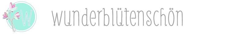 Wunderblütenschön-Logo