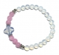 "Preview: Armband ""Candy"" 925er Sterlingsilber Opal und Rosenquarz"